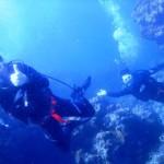 沖縄ダイビング☆1/28 11:00 青の洞窟体験ダイビング2本コース えりな