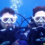 沖縄ダイビング☆1/29 11:30 青の洞窟体験ダイビング しおん