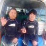 沖縄ダイビング☆2/24 珊瑚礁体験ダイビング 1時~ 担当しおん