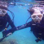 沖縄ダイビング☆ 2/24 珊瑚礁体験ダイビング10:30~ しおん