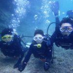 沖縄ダイビング☆3/2  珊瑚礁体験ダイビング 12:30 しおん・なすび