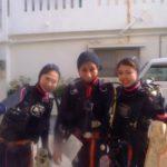 沖縄ダイビング☆3/5  OW取得コース えりな