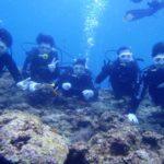 沖縄ダイビング☆3/5  青の洞窟体験ダイビング  10:00 しおん・なすび