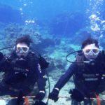 沖縄ダイビング☆3/8  珊瑚礁体験ダイビング 10:30 えりな