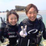 沖縄ダイビング☆3/9  珊瑚礁体験ダイビング 10:30 えりな
