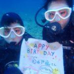 沖縄ダイビング☆3/12  珊瑚礁体験ダイビング 8:00  りさ