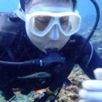 沖縄ダイビング☆3/13  青の洞窟体験ダイビング 10:30 えりな
