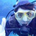 沖縄ダイビング☆3/13  青の洞窟体験ダイビング+スノーケル 10:30 えりな