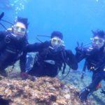 沖縄ダイビング☆3/20  青の洞窟体験ダイビング 13:00~ たく