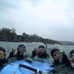 沖縄ダイビング☆3/26  珊瑚礁スノーケル  15:30  たく