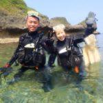 沖縄ダイビング☆3/29  青の洞窟体験ダイビング 10:00  えりな