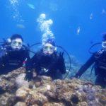 沖縄ダイビング☆ 3/30 青の洞窟体験ダイビング 8:00 たく・しおん