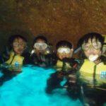 沖縄ダイビング☆3/30 青の洞窟スノーケル 13:00 しおん