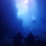 沖縄ダイビング☆3/31  青の洞窟体験ダイビング2本コース 10:30 えりな