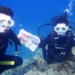 沖縄ダイビング☆6/10 青の洞窟体験ダイビング 15時半 なすび
