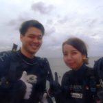 6/18 沖縄ダイビング 10時半~ 水中ポストへハガキを入れてきました!! えりな