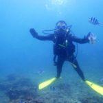 沖縄ダイビング 6/18 砂辺体験ダイビング&FUNダイビング えりな