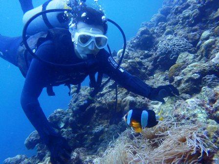 沖縄ダイビング☆6/22 青の洞窟体験ダイビング 10時半~ しおん