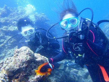 沖縄ダイビング☆6/22 青の洞窟体験ダイビング 13時~ しおん