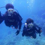 沖縄ダイビング☆6/29 青の洞窟体験ダイビング 10時半 しおん