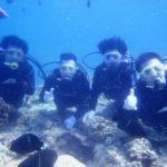 沖縄ダイビング☆7/18 13時~ 青の洞窟体験ダイビング しおん&えりな