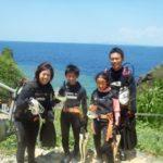 沖縄ダイビング☆8/1  青の洞窟体験ダイビング  13:00~ しおん・たく