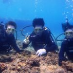 沖縄ダイビング☆8/15  青の洞窟体験ダイビング  13:00~ しおん・ひろあき
