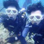 沖縄ダイビング☆8/21 青の洞窟体験ダイビング 13時~ なすび・しょーた