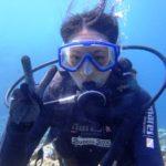 沖縄ダイビング☆8/21 青の洞窟シュノーケリング+珊瑚礁体験ダイビング 13時~ えりな