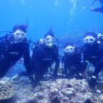沖縄ダイビング☆8/24  青の洞窟体験ダイビング  13時~ しおん・えりな・しょーた