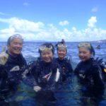 沖縄ダイビング☆8/24  青の洞窟体験ダイビング  10時半~ えりな・なすび