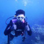 沖縄ダイビング☆8/26  青の洞窟体験ダイビング  15:00~ しおん
