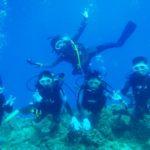沖縄ダイビング☆8/26  青の洞窟体験ダイビング  13:00~ しおん・えりな