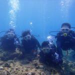 沖縄ダイビング☆8/27  青の洞窟体験ダイビング  13:00~ しおん・せいや