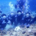 沖縄ダイビング☆8/30  サンゴ礁体験ダイビング  8:00~ なすび・たく・しおん