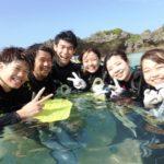 沖縄ダイビング☆9/29 サンゴ礁体験ダイビング 13時~ しおん