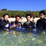 沖縄ダイビング☆9/30 サンゴ礁体験ダイビング 13時~ しおん・えりな