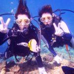 沖縄ダイビング☆10/3      サンゴ礁体験ダイビング      10:30〜    えりな