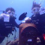 沖縄ダイビング☆10/5  サンゴ礁体験ダイビング  13:00~ えりな