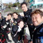 沖縄ダイビング☆10/9 到着 PM砂辺ビーチFUNダイビング たく