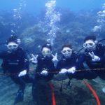 沖縄ダイビング☆10/18 サンゴ礁体験ダイビング 13時~ たく・とも