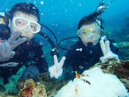 沖縄ダイビング☆10/19 13時~ サンゴ礁体験ダイビング たく