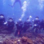 沖縄ダイビング☆ 10/27 珊瑚体験ダイビング 15時~ しおん・なすび・たく・とも・せいや・えりな・どら・とよ