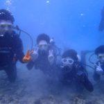 沖縄ダイビング★11/5 サンゴ礁体験ダイビング 10時~ たく・しおん・ドラ
