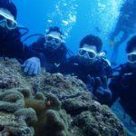 沖縄ダイビング☆11/25 8時~ 砂辺体験ダイビング 担当たく・とも
