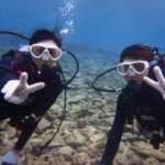 沖縄ダイビング☆ 1/4 ミニ珊瑚体験ダイビング 9時~ しおん