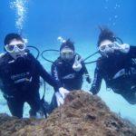 沖縄ダイビング☆1/6  サンゴ礁 体験ダイビング  11:30~ たく・しおん