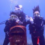 沖縄ダイビング☆1/7  サンゴ礁 体験ダイビング  14:00~  なすび・しおん