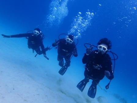 沖縄ダイビング☆1/13  サンゴ礁体験ダイビング   10:30~ しおん