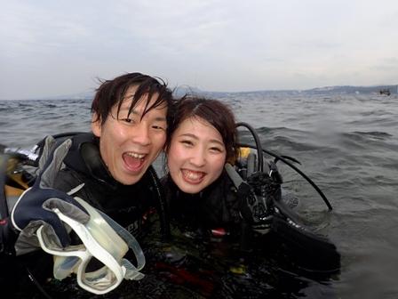 沖縄ダイビング☆1/21  青の洞窟体験ダイビング  14:00~  しおん